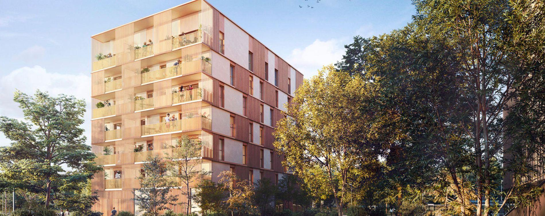 Bruges : programme immobilier neuve « Le Petit Bruges - Caïssa » en Loi Pinel