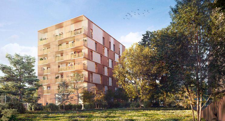Bruges : programme immobilier neuf « Le Petit Bruges - Caïssa » en Loi Pinel