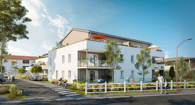 Carbon-Blanc : programme immobilier neuf « Harmony » en Loi Pinel