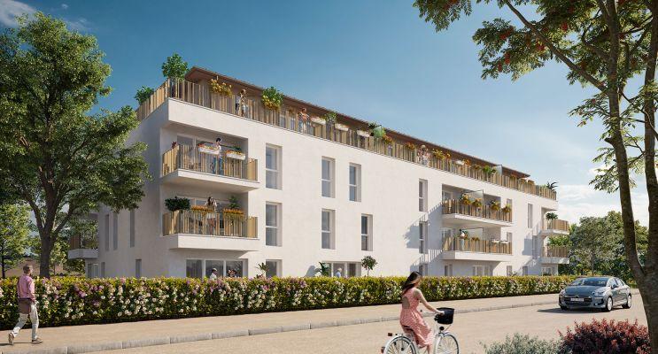 Carbon-Blanc : programme immobilier neuf « Le Clos des Chênes Blancs » en Loi Pinel