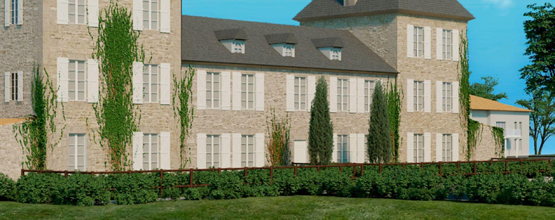 Résidence Château Canteloup à Carignan-de-Bordeaux