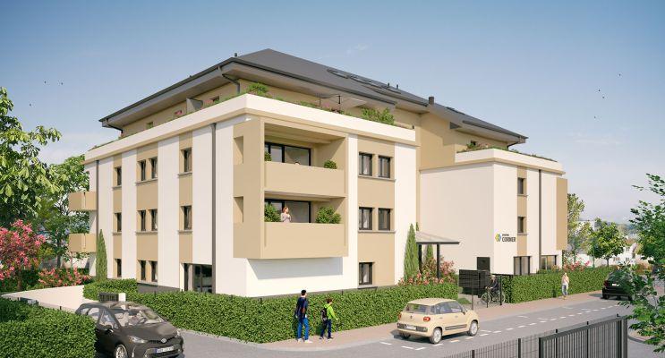 Cenon : programme immobilier neuf « Corner » en Loi Pinel