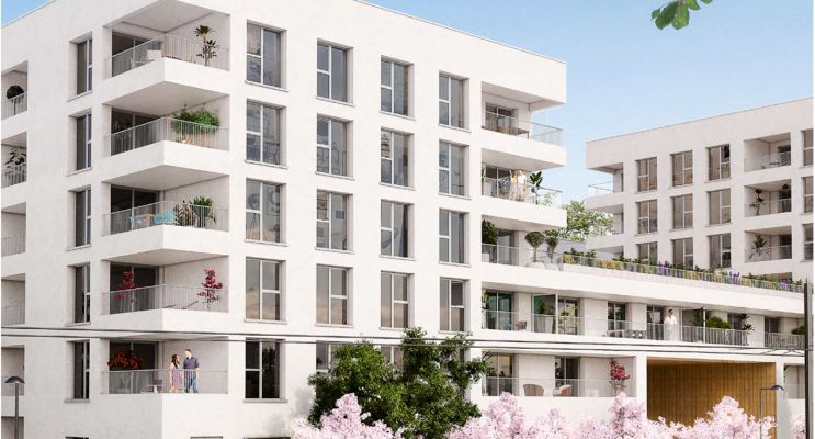 Résidence « Sakura » programme immobilier neuf en Loi Pinel à Cenon n°3