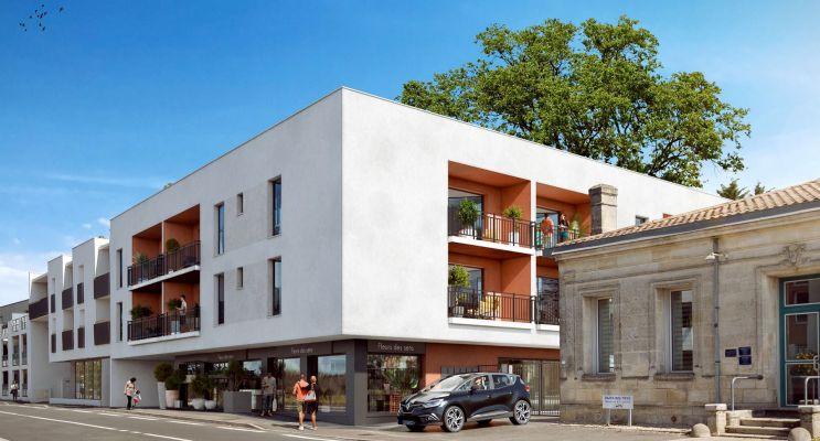 Résidence « Augusta » programme immobilier neuf en Loi Pinel à Eysines n°2