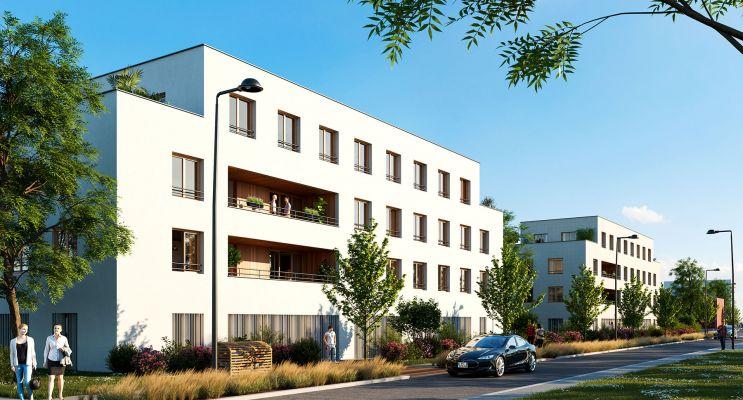 Résidence « Eqlo » programme immobilier neuf en Loi Pinel à Floirac n°2