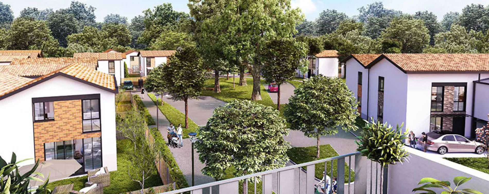 Gradignan : programme immobilier neuve « Domaine de Castéra » (3)