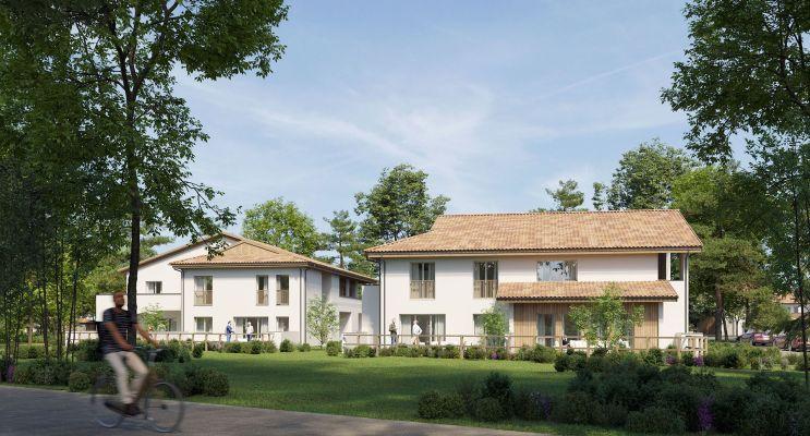 Photo du Résidence « Le Village des Coqs Rouges » programme immobilier neuf en Loi Pinel à Gradignan