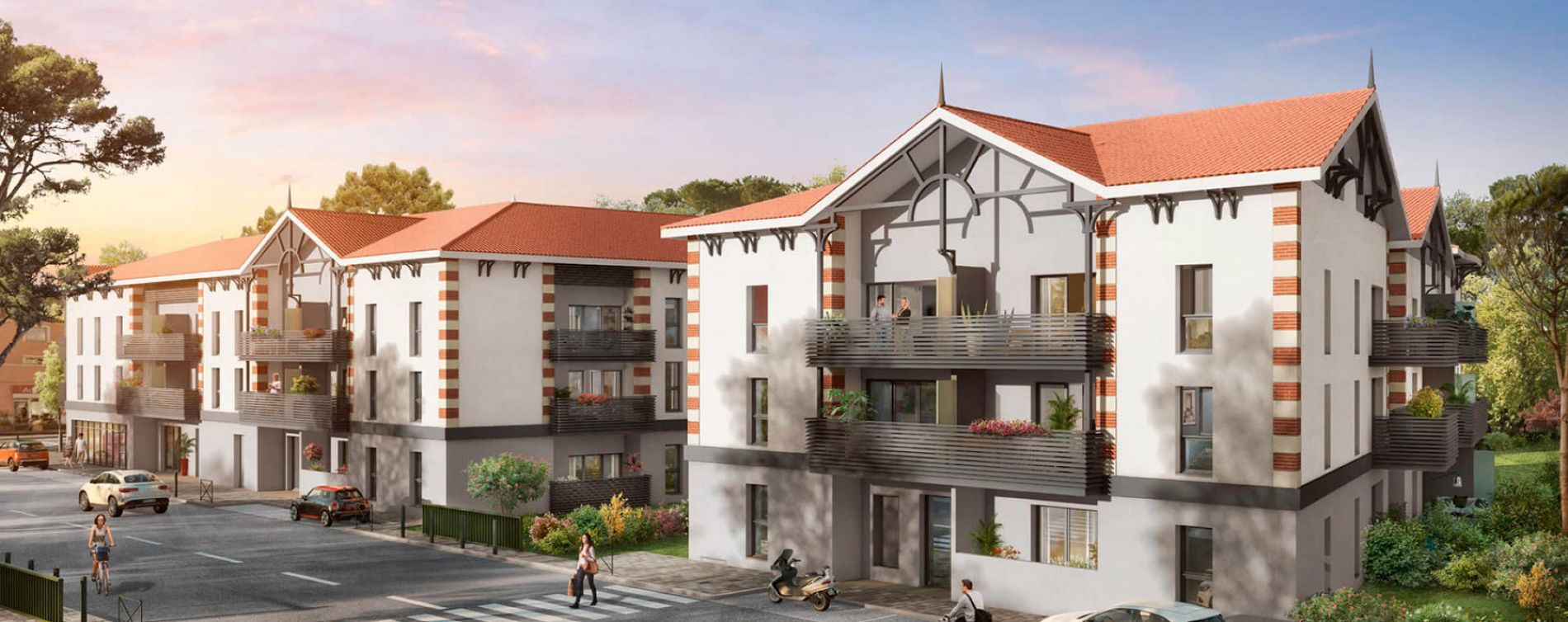 Gujan-Mestras : programme immobilier neuve « Programme immobilier n°214279 »
