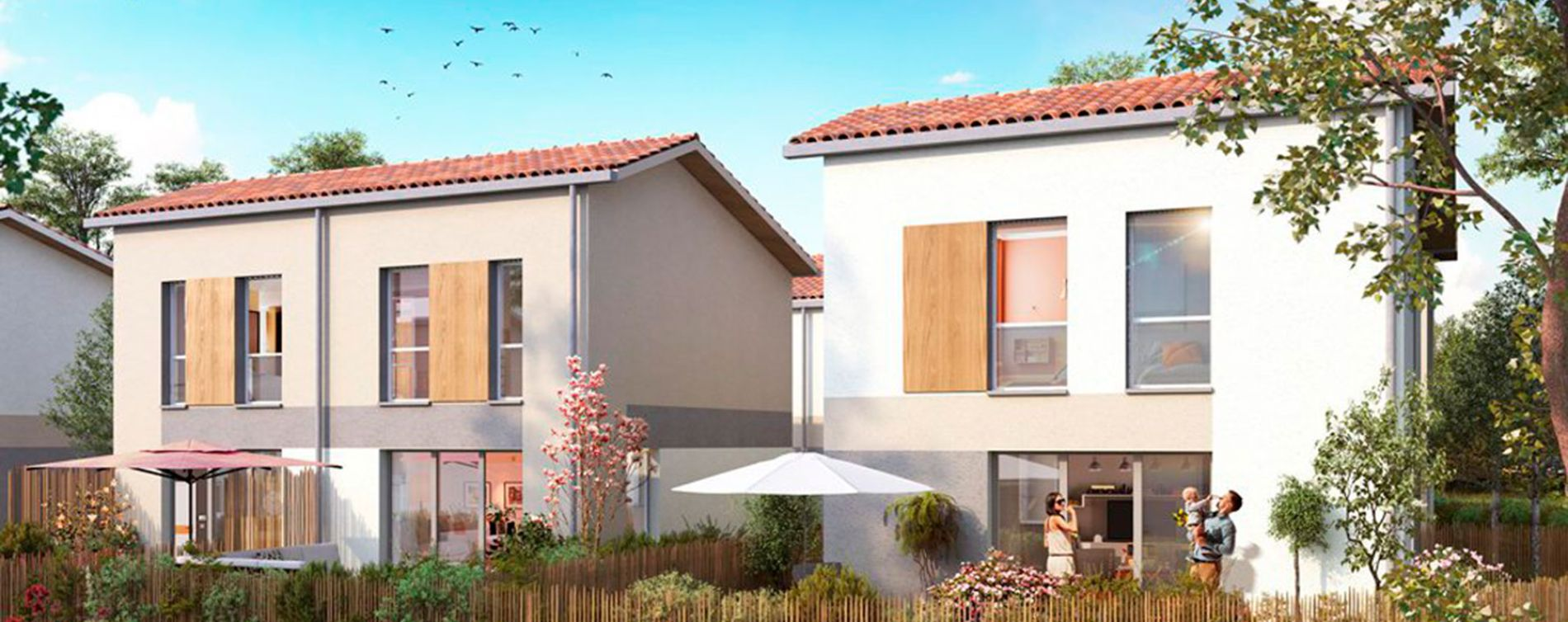 Izon : programme immobilier neuve « Dolce Villa »