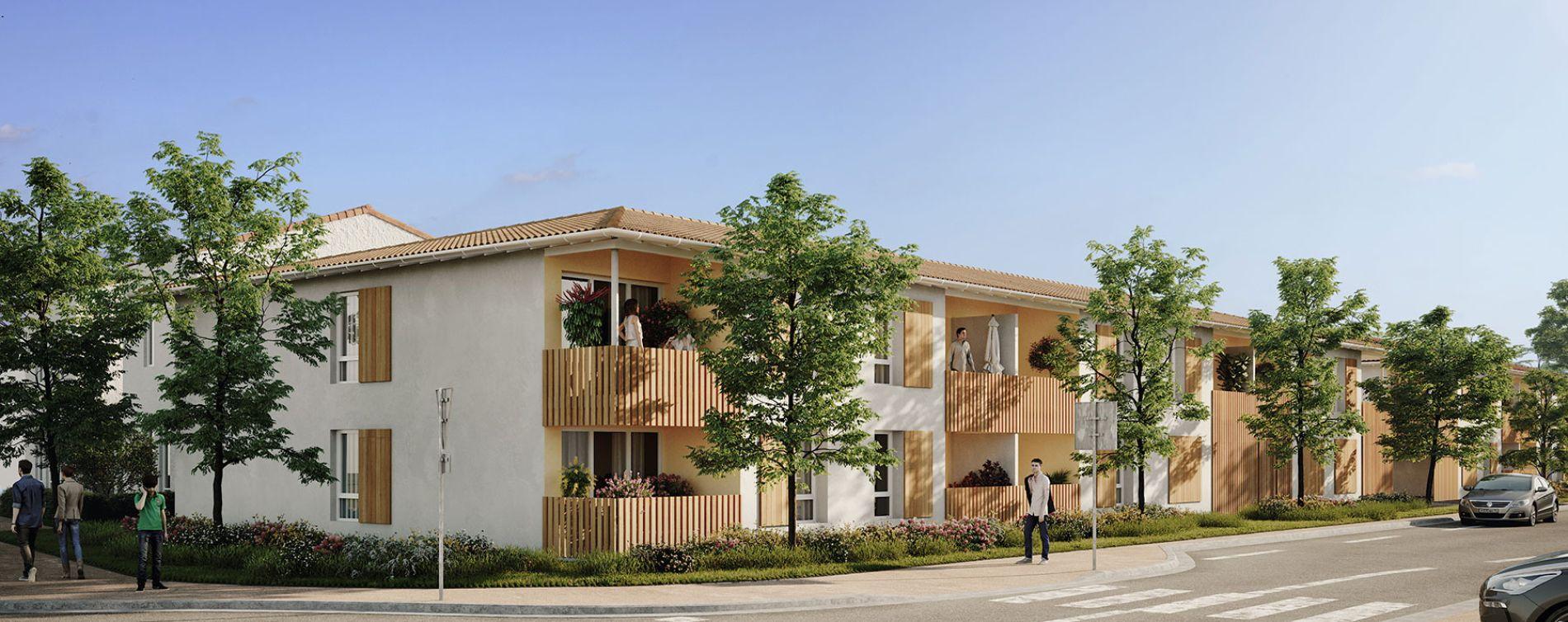 La Brède : programme immobilier neuve « L'Etoffe »
