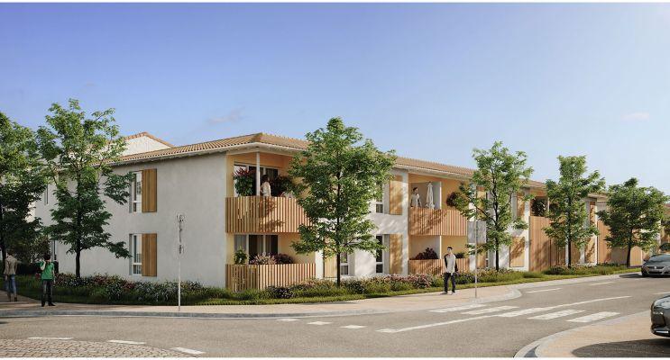 Photo du Résidence « L'Etoffe » programme immobilier neuf à La Brède