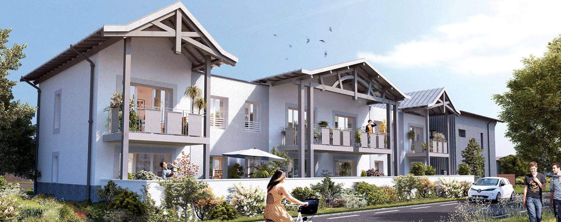 La Teste-de-Buch : programme immobilier neuve « Le Parc de la Séoube Bât. 7 »
