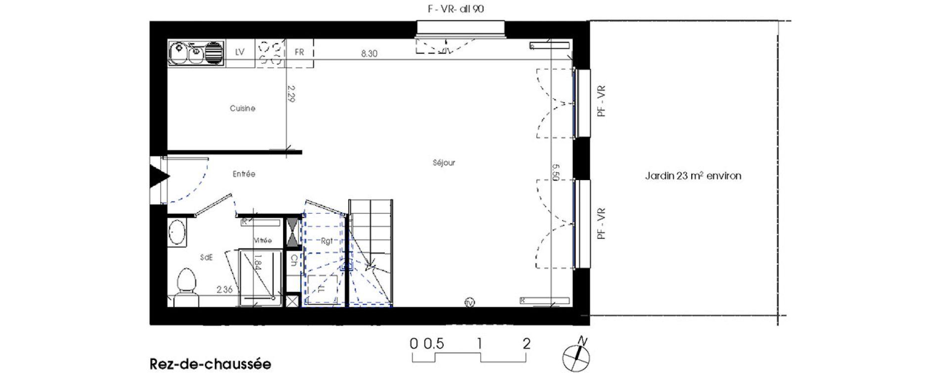 Duplex T4 de 81,93 m2 à La Teste-De-Buch Centre