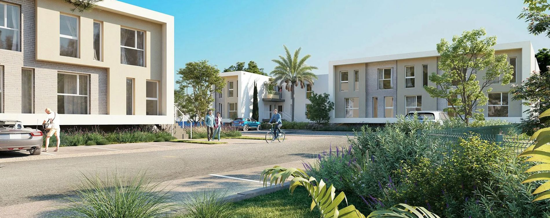 La Teste-de-Buch : programme immobilier neuve « Oyat » en Loi Pinel