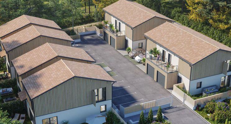 Photo du Résidence « Les Cabanes » programme immobilier neuf à Lanton