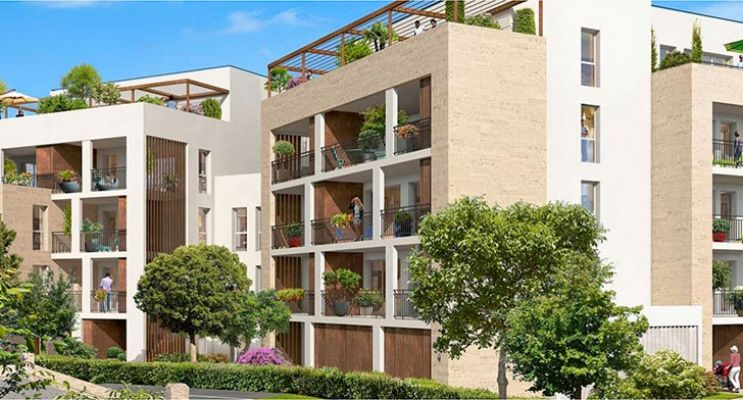 Résidence « Pierre 1Er Héritage » programme immobilier neuf en Loi Pinel à Le Bouscat n°2