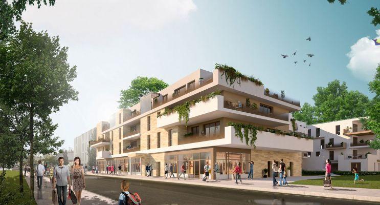 Le Bouscat programme immobilier neuf « Terracia » en Loi Pinel