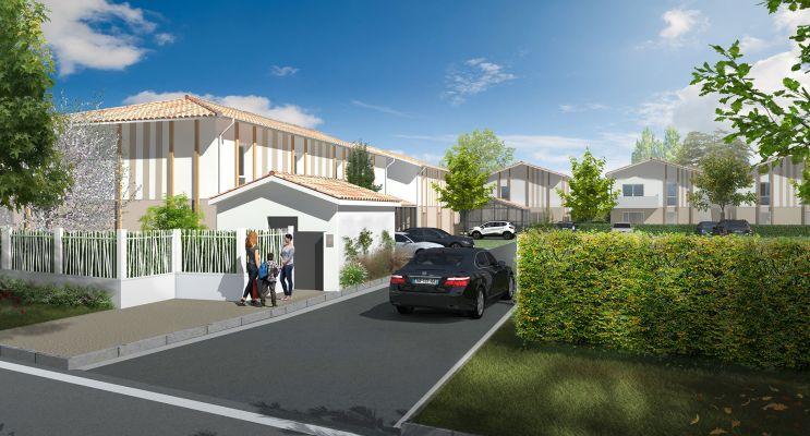 Photo du Résidence « Les Girondines » programme immobilier neuf en Loi Pinel à Le Haillan