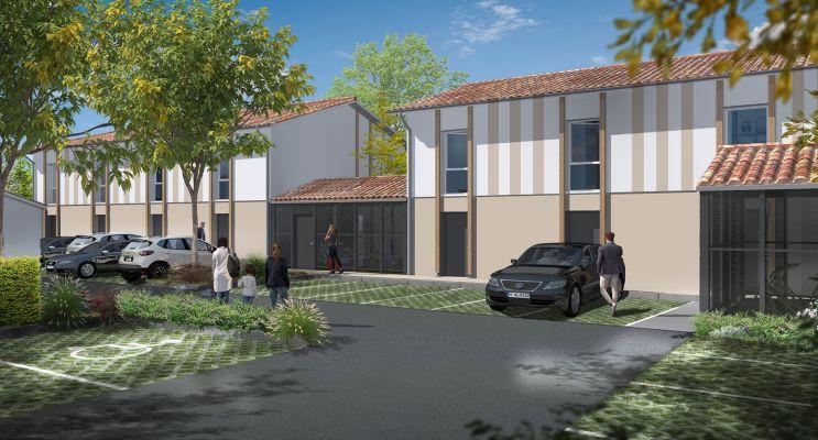 Résidence « Les Girondines » programme immobilier neuf en Loi Pinel à Le Haillan n°2