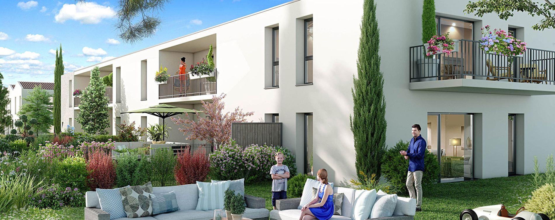 Le Pian-Médoc : programme immobilier neuve « Ô Bosquets »