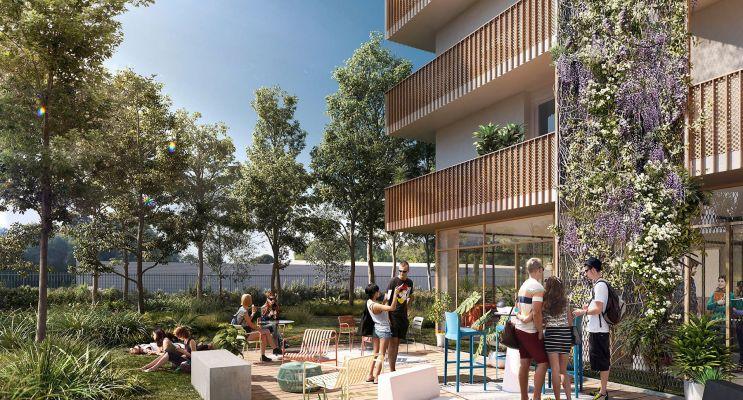 Lormont : programme immobilier neuf « Cosmopolitan » en Loi Pinel