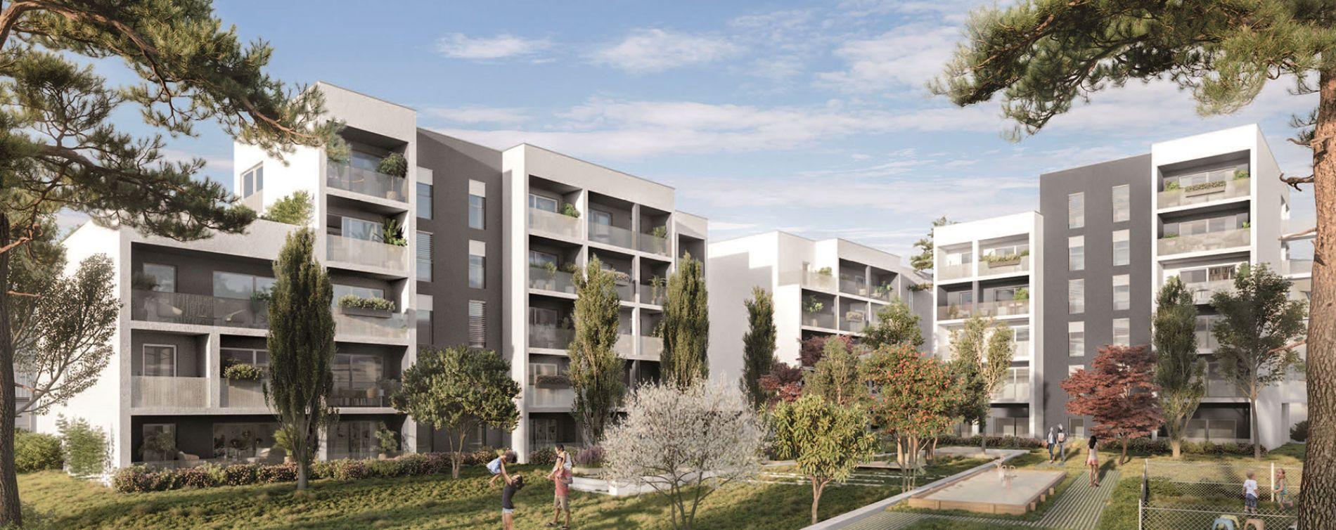 Lormont : programme immobilier neuve « Inside » en Loi Pinel