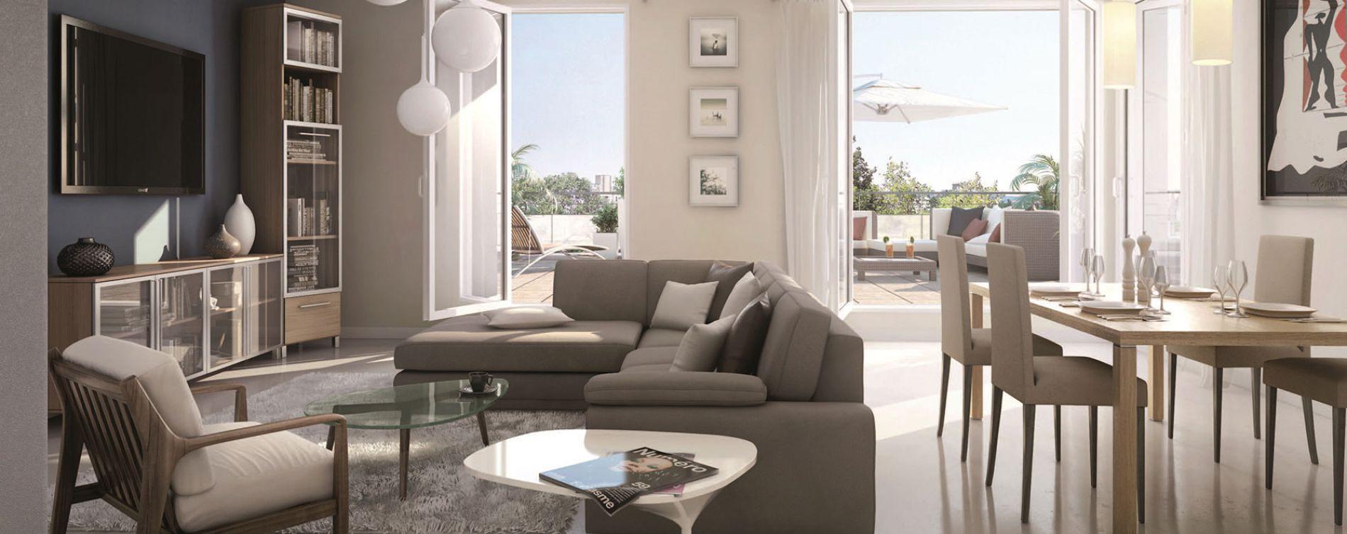 Lormont : programme immobilier neuve « Inside » en Loi Pinel (2)