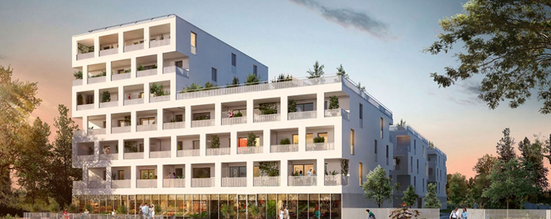 Lormont : programme immobilier neuve « Latitude » en Loi Pinel