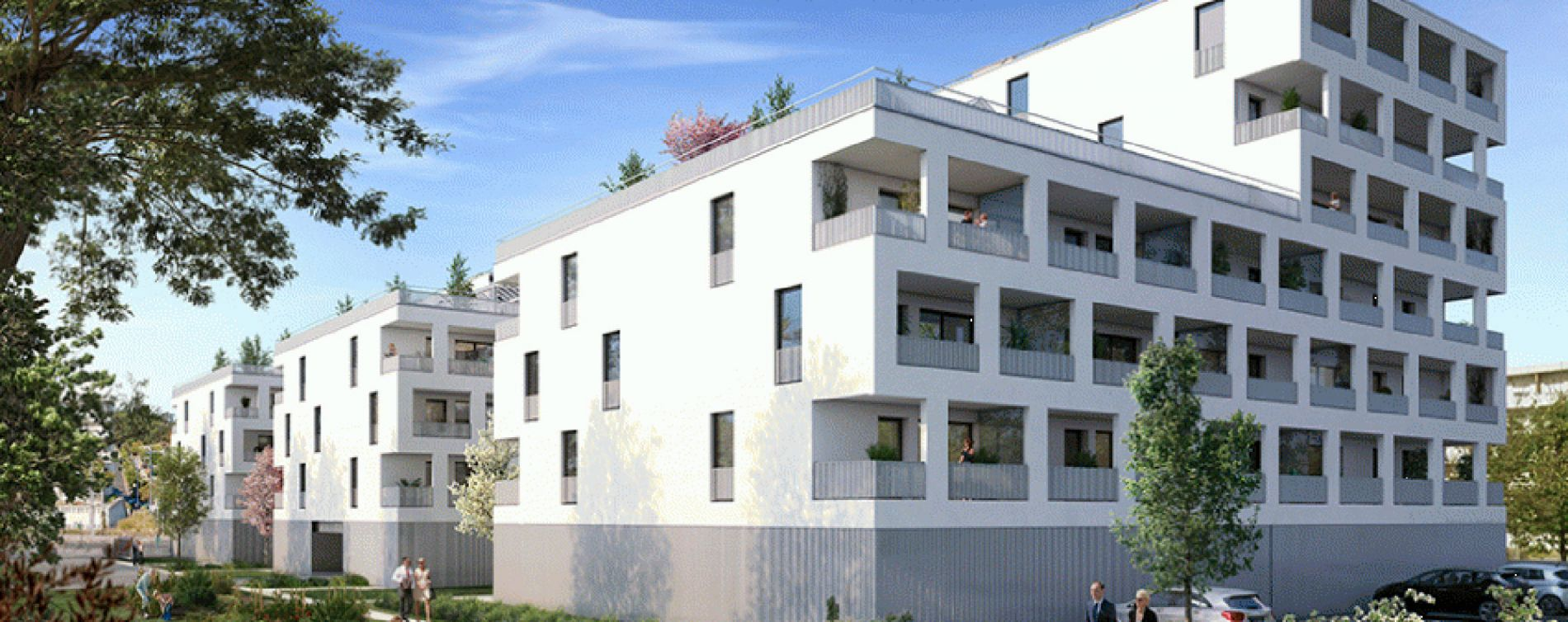 Lormont : programme immobilier neuve « Latitude » en Loi Pinel (2)