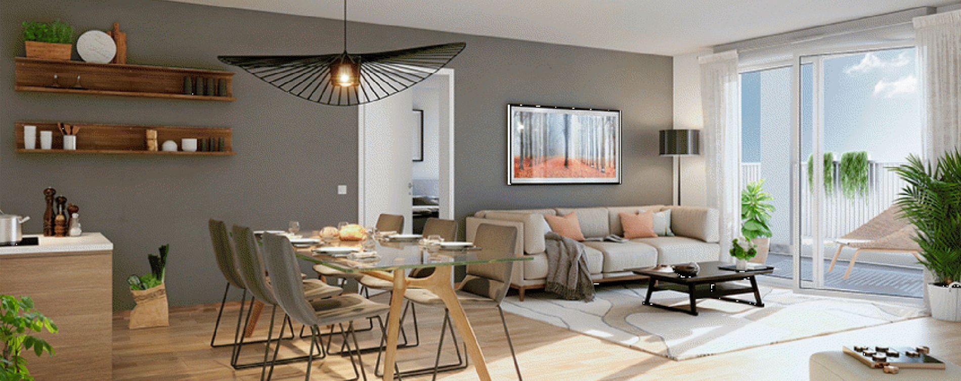 Lormont : programme immobilier neuve « Latitude » en Loi Pinel (4)
