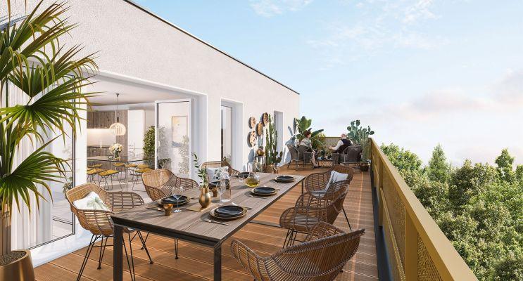 Photo du Résidence « Les Brumes de Gua » programme immobilier neuf en Loi Pinel à Lormont