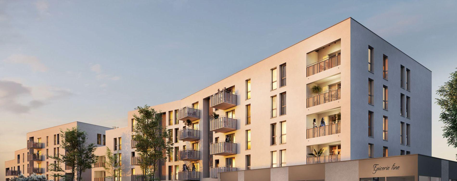 Lormont : programme immobilier neuve « Les Jardins d'Anaïs 2 » en Loi Pinel
