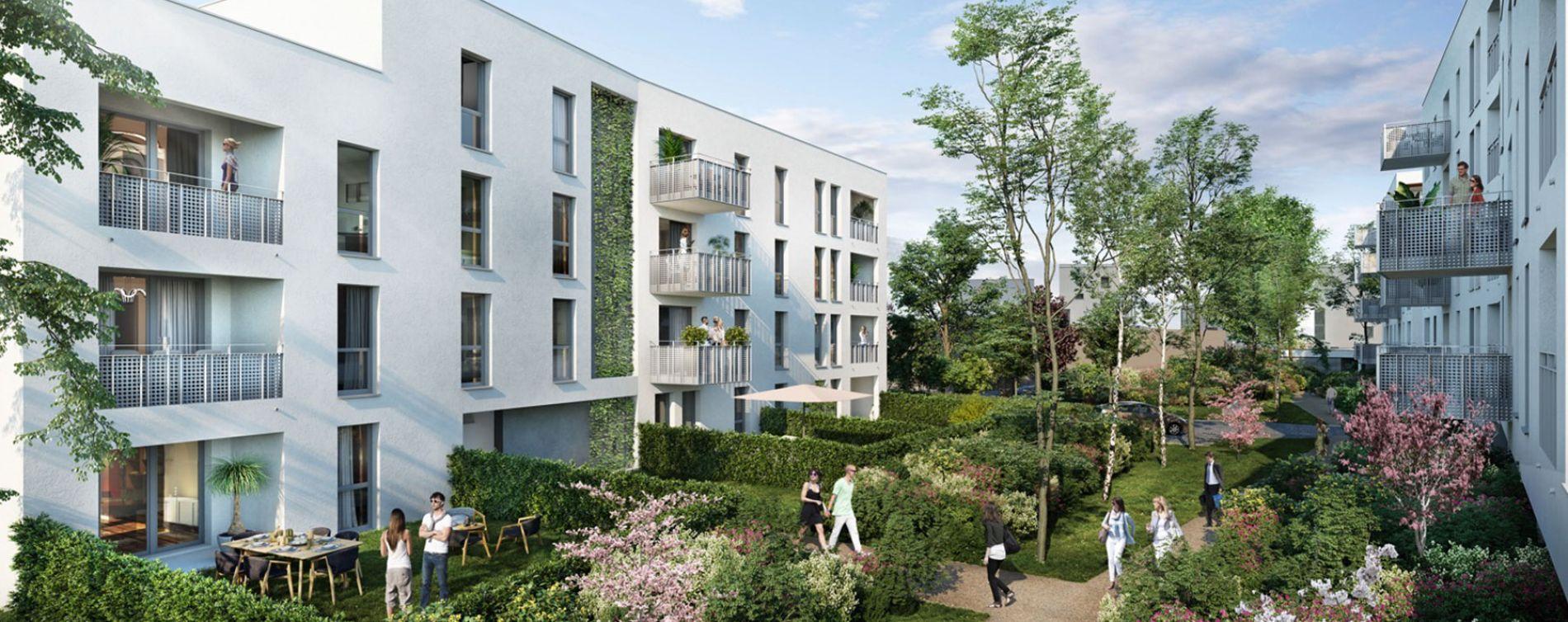 Lormont : programme immobilier neuve « Les Jardins d'Anaïs 2 » en Loi Pinel (2)
