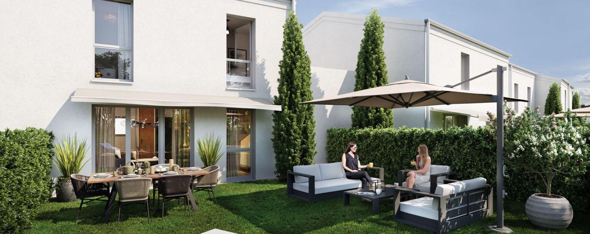 Lormont : programme immobilier neuve « Les Jardins d'Anaïs 2 » en Loi Pinel (3)