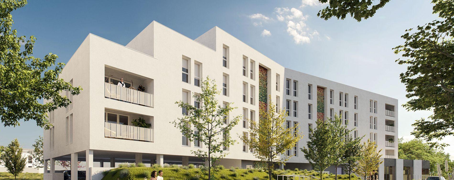 Lormont : programme immobilier neuve « Les Jardins d'Anaïs » en Loi Pinel