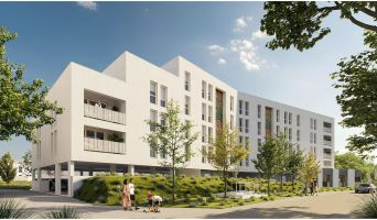 Lormont : programme immobilier neuf « Les Jardins d'Anaïs » en Loi Pinel