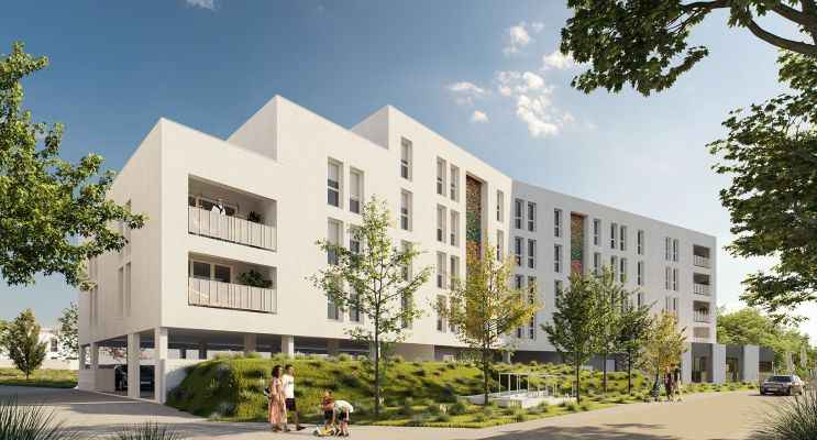 Photo du Résidence « Les Jardins d'Anaïs » programme immobilier neuf en Loi Pinel à Lormont
