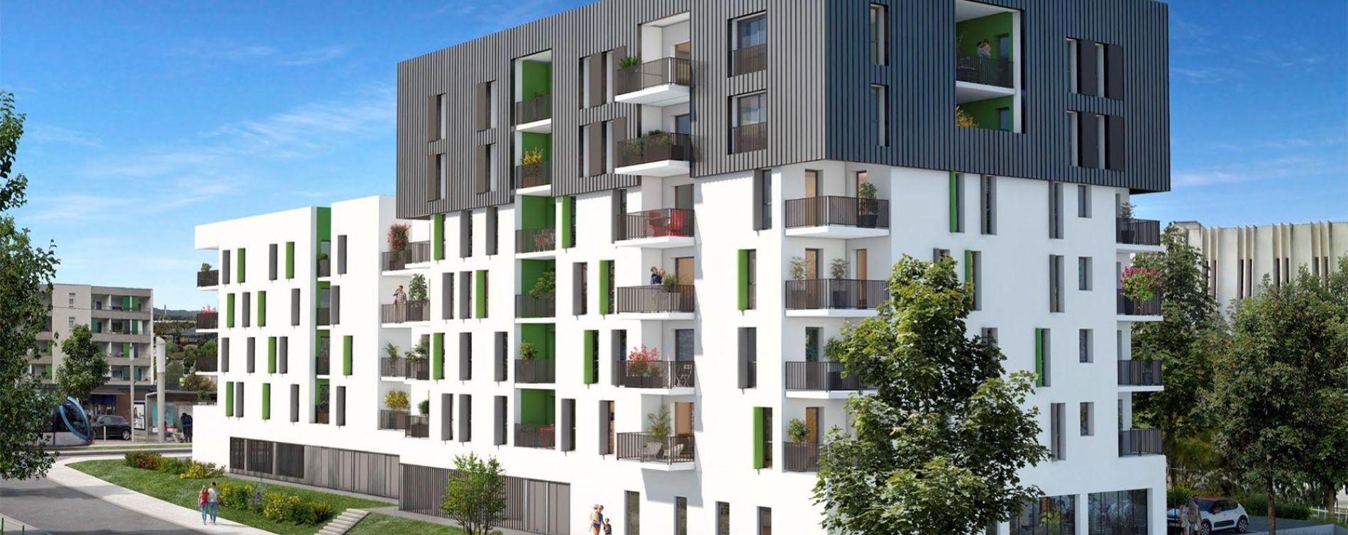 Lormont : programme immobilier neuve « Upside » en Loi Pinel (2)