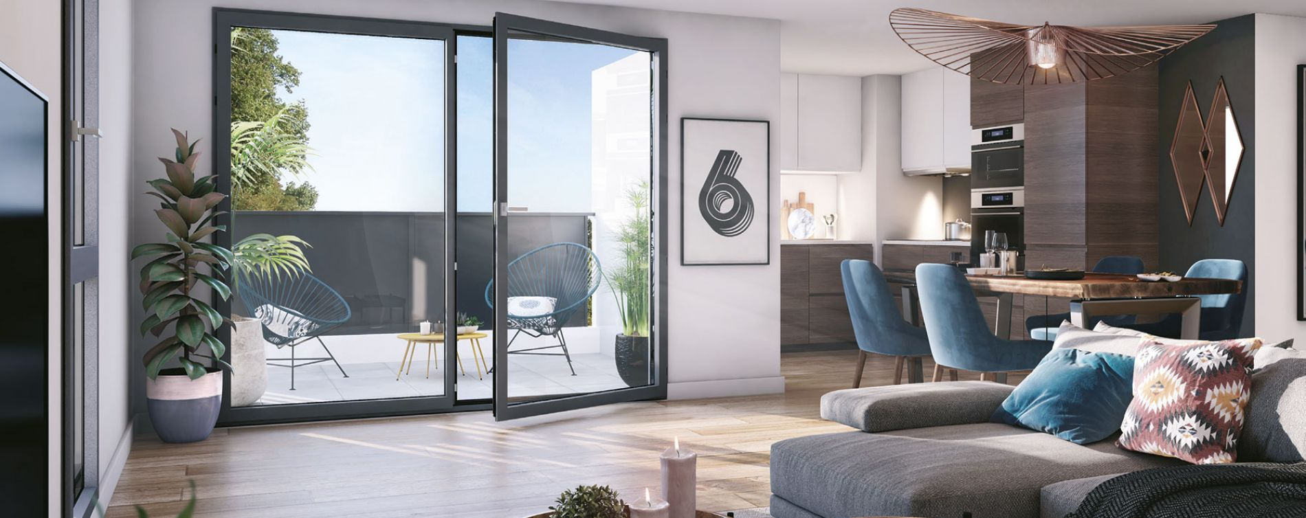Lormont : programme immobilier neuve « Upside » en Loi Pinel (3)