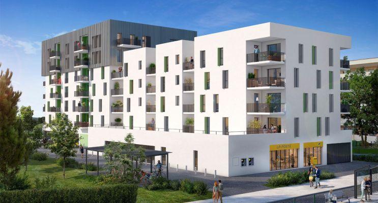 Lormont : programme immobilier neuf « Upside » en Loi Pinel