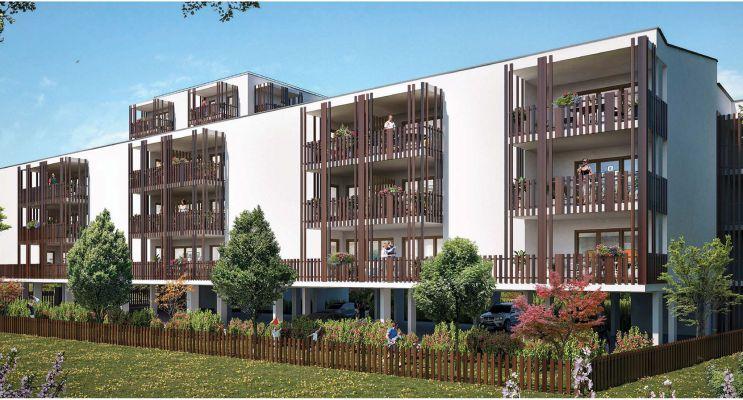 Lormont : programme immobilier neuf « Villa Elina » en Loi Pinel