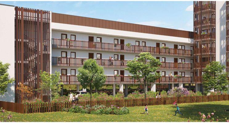 Résidence « Villa Elina » programme immobilier neuf en Loi Pinel à Lormont n°2