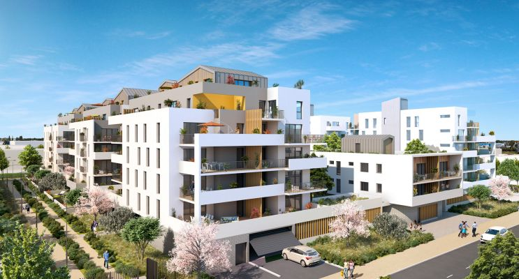 Photo du Résidence « Volubilis » programme immobilier neuf en Loi Pinel à Lormont