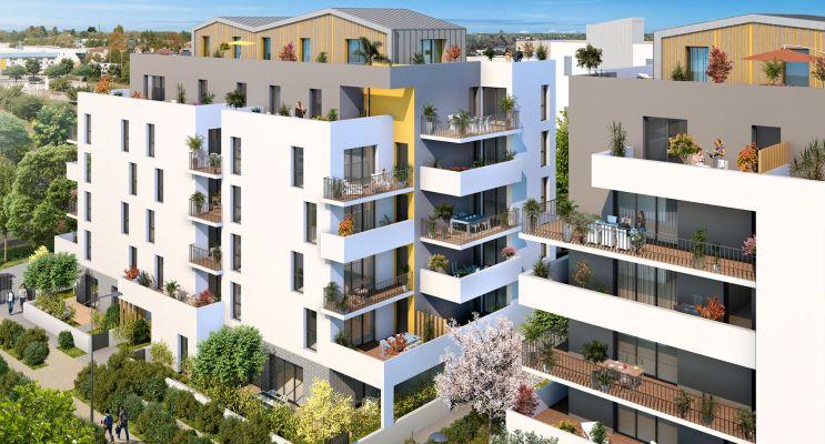 Résidence « Volubilis » programme immobilier neuf en Loi Pinel à Lormont n°2