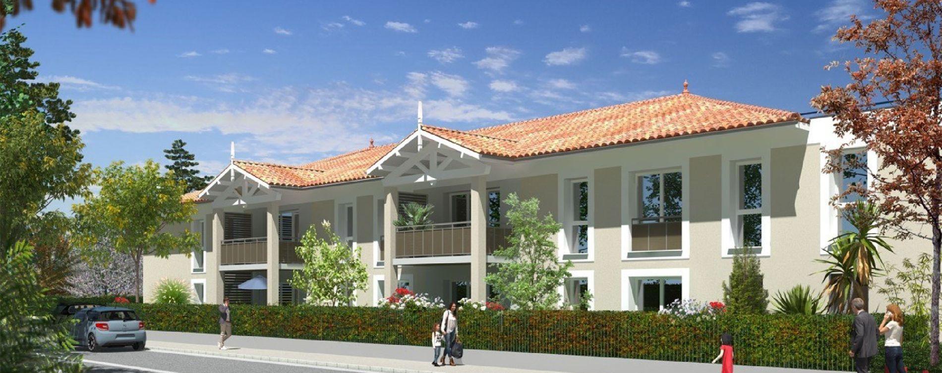 Martignas-sur-Jalle : programme immobilier neuve « Le Galip » en Loi Pinel