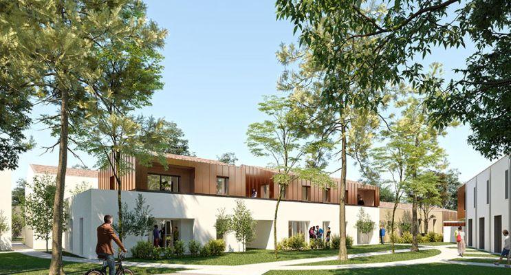 Photo n°1 du Résidence « Les Noisetiers » programme immobilier neuf en Loi Pinel à Martignas-sur-Jalle