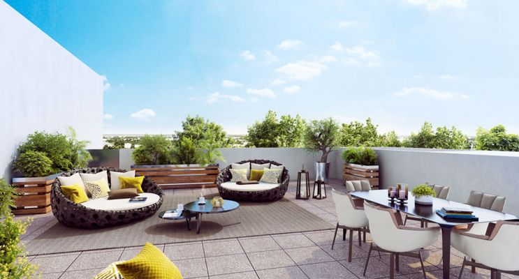 Photo n°2 du Résidence « Arborësens » programme immobilier neuf en Loi Pinel à Mérignac