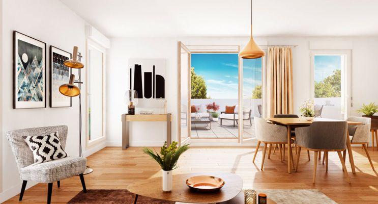 Photo n°3 du Résidence « Arborësens » programme immobilier neuf en Loi Pinel à Mérignac