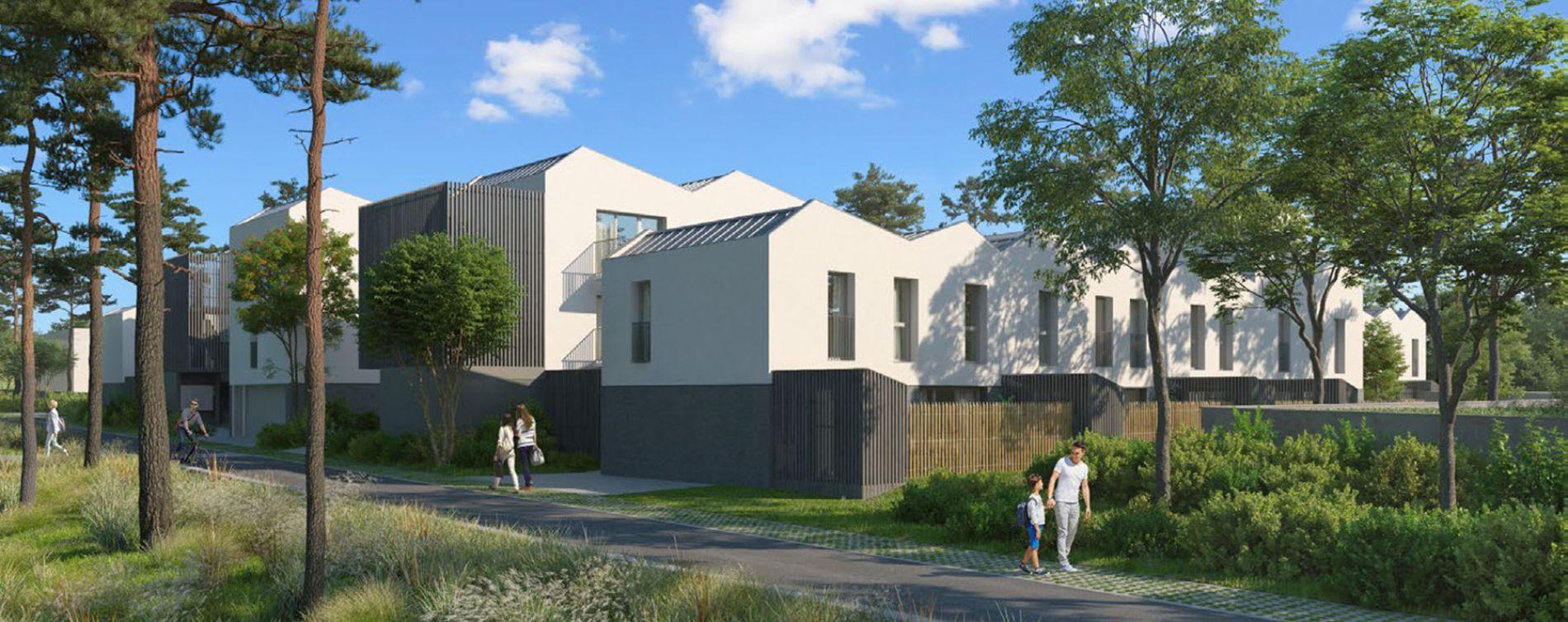 Mérignac : programme immobilier neuve « Charme - Parc Mirepin »