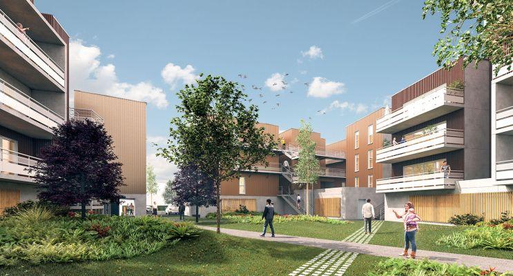 Mérignac : programme immobilier neuf « Kübøa » en Loi Pinel